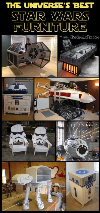 12 Awesome Star Wars Inspired Furniture Pieces