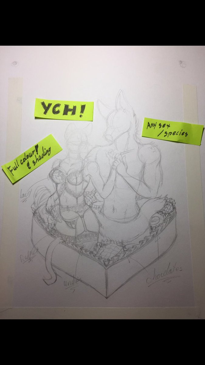 http://www. furaffinity.net/view/22344416/  &nbsp;   ych #auction #ych #furry #art #traditional #ValentinesDay plus art level examples<br>http://pic.twitter.com/s5j5Kul1tA