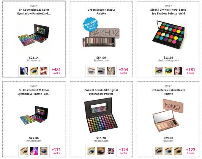 Makeup Palette Heaven