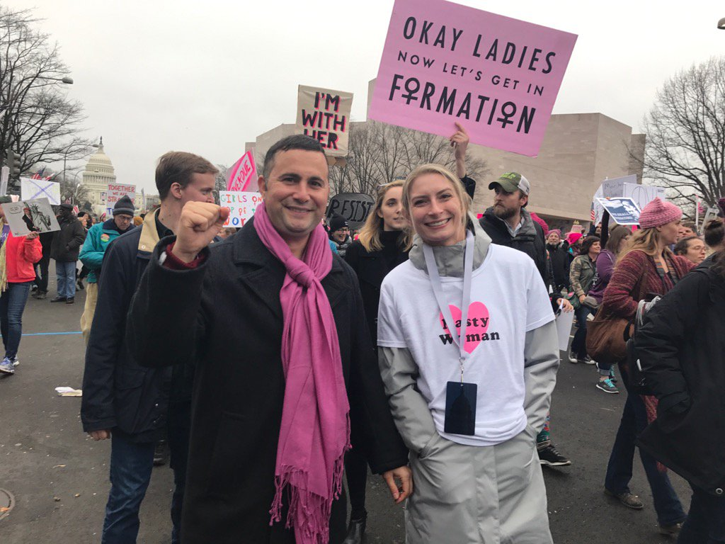 Over a million strong in DC for Women&#39;s Rally rise up! @HispanicCaucus @OrangeDemsFL @Osceola_DEC #Sayfie #fdp<br>http://pic.twitter.com/RM2XtKywzN