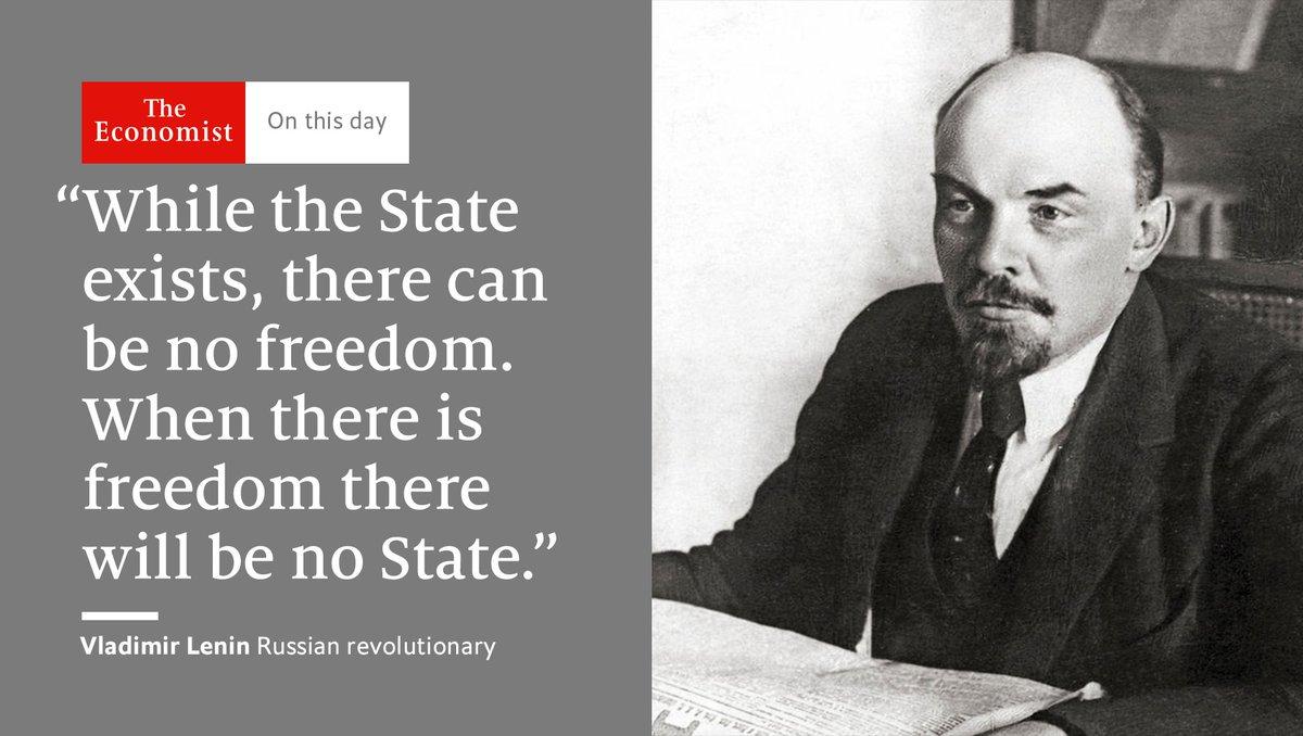 the economist on twitter lenin died onthisday 1924 he dismissed