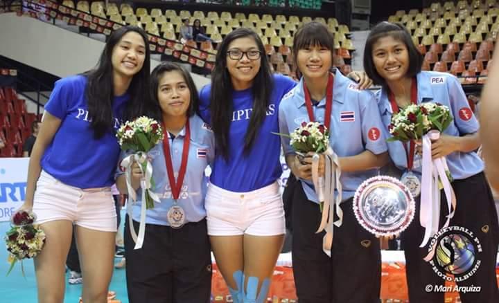 Dreams do come true. ALWAYS BE THANKFUL. #Thailand  #Teammates #Valdez #Pimpichaya #Boonlert (C) @VballPH *owners<br>http://pic.twitter.com/qcXqz4c4AD