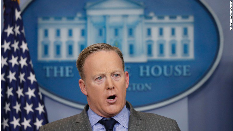 White House press secretary attacks media for accurately reporting ina...