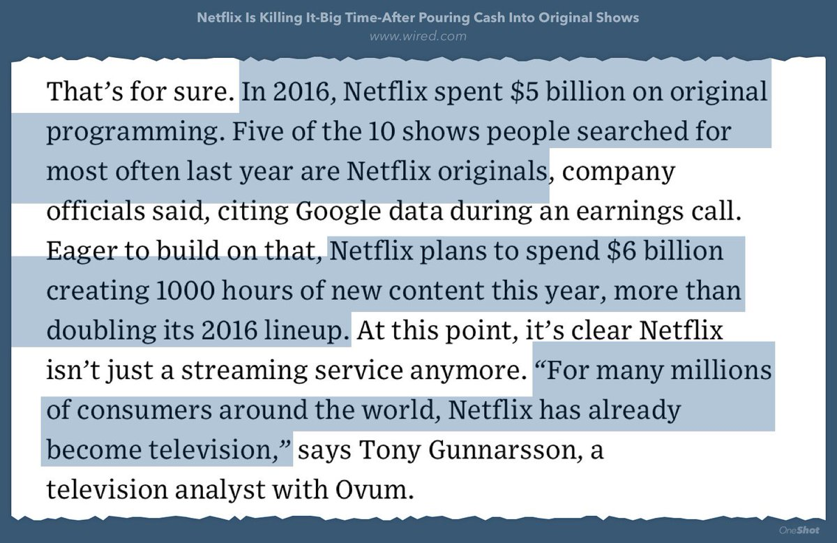 Subrahmanyam Kvj On Twitter Netflixs 1 Competitor Per Netflix Wiring Diagram Has Already Become Television Https Wiredcom 2017 01 Investing Original Shows Finally Pays Off Pic S1jbjjx0xq