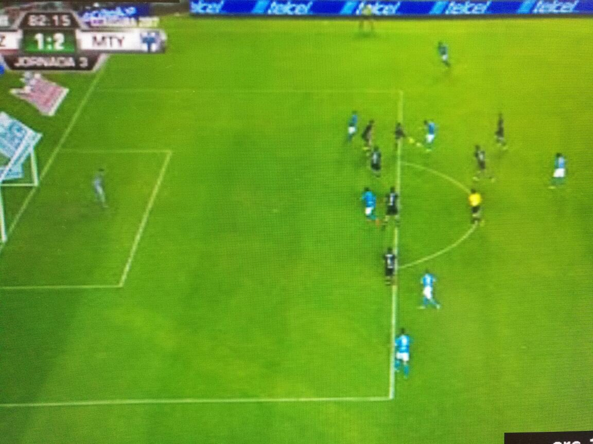 Mal anulado gol a Cruz azul por fuera de juego inexistente https://t.c...