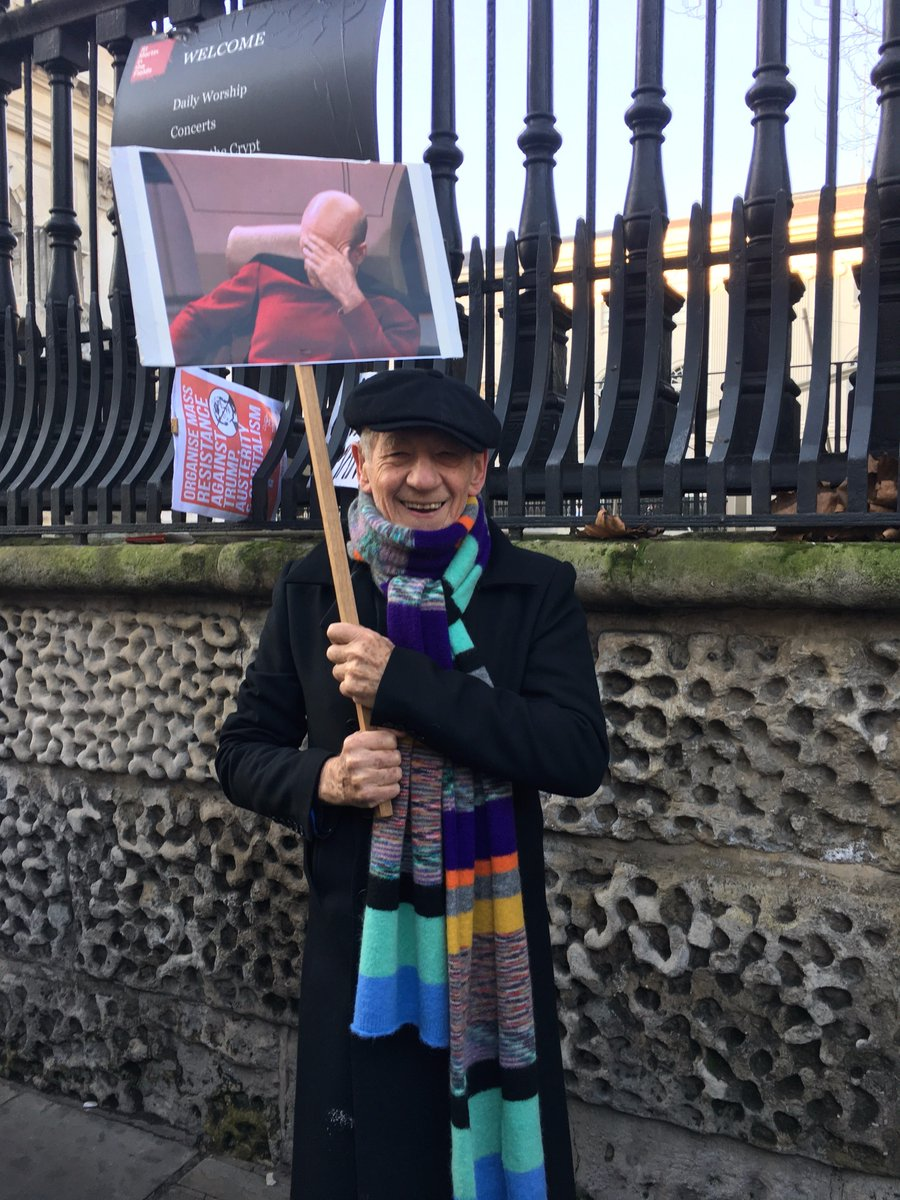 The Women's March in London was the longest I have been on. See the rest of my message attached. https://t.co/q7QC4Jvg0S