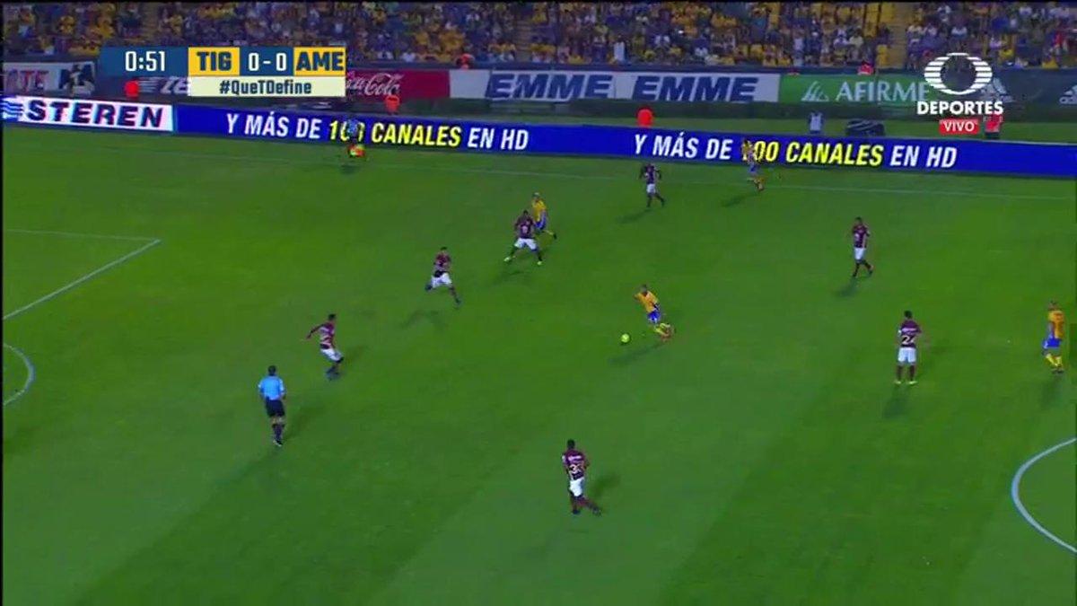 #QueTDefine 1' ¡Gol de vestidor! Ismael Sosa se quita la marca y dispa...
