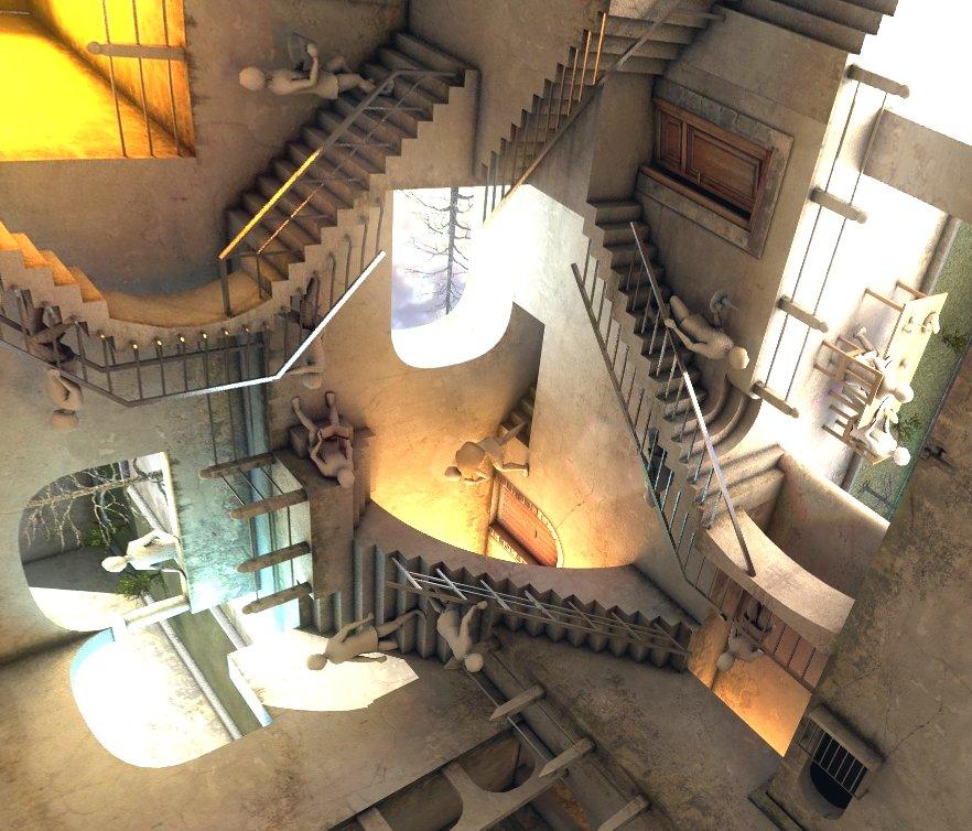 360 degrees of Escher #VR @googlevr kuula.co/post/7ftxm #kuula