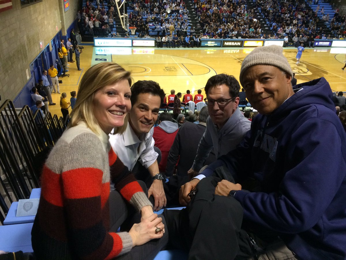 Watching the @Cornell @Columbia game w/ @RonEClaiborne @RobMarciano &a...