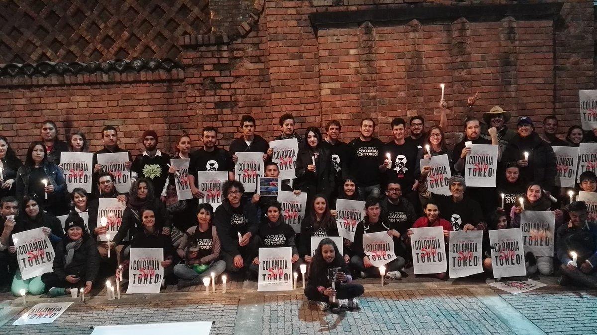 Quienes queremos la abolición del maltrato animal estamos con #Colombi...