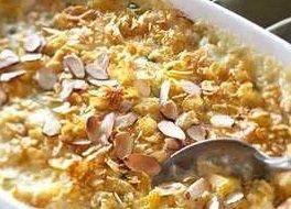 Chicken Almond Casserole