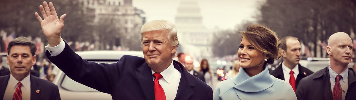 New Profile Headers  Here are some clean photos of the first couple Donald &amp; Melania Trump. More banners coming soon.  @POTUS @FLOTUS #MAGA <br>http://pic.twitter.com/xdcEofsZ2i
