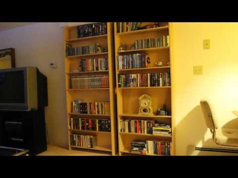 Noted: Hidden Bookshelf Door Shows Incredible Motion