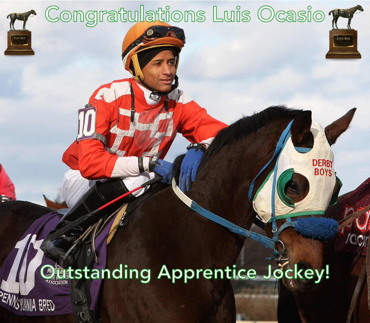 Congratulations Luis Ocasio, the 2016 #EclipseAwards winner for Outsta...