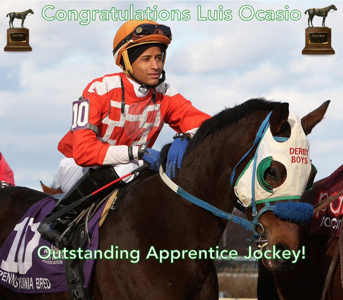 Congratulations Luis Ocasio, the 2016 #EclipseAwards winner for Outsta...
