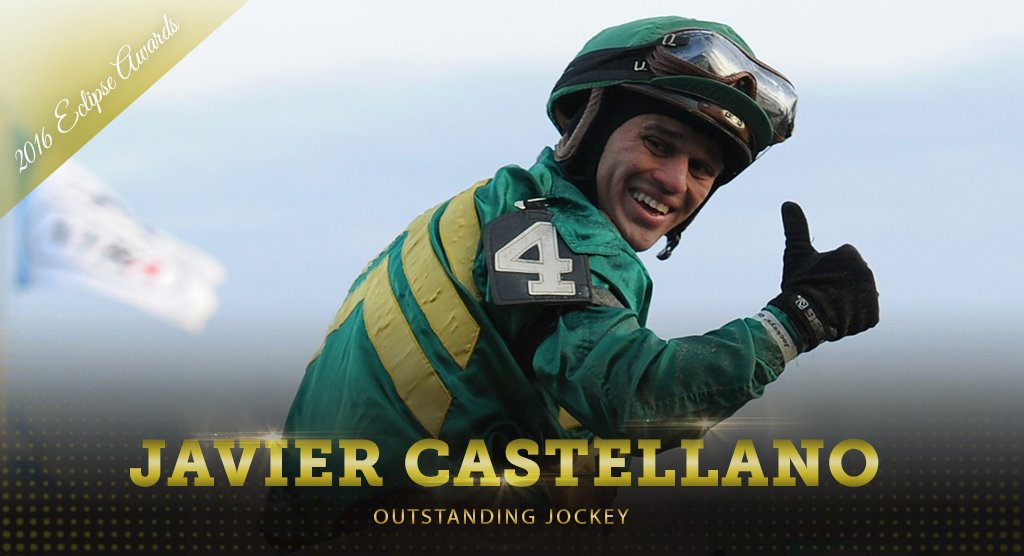 Four years in a row! Congratulations to the 2016 Outstanding Jockey Ja...