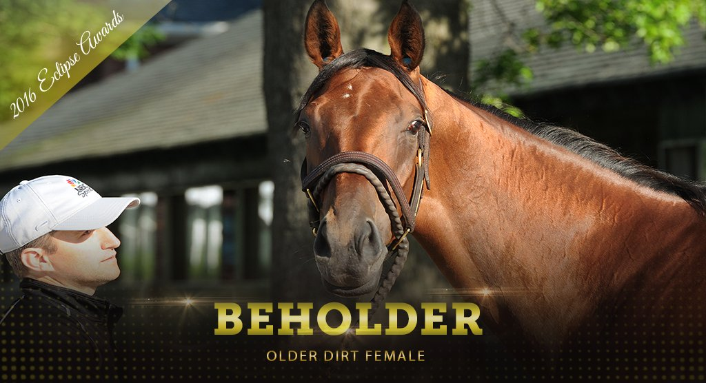Most decorated Female Eclipse Award winner! Congratulations, BEHOLDER...