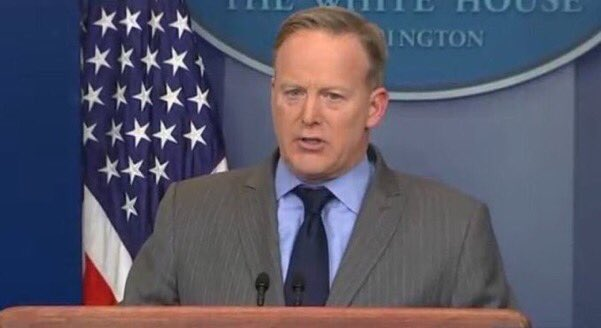 I let the dogs out #SpicerFacts https://t.co/XJkROimLw8