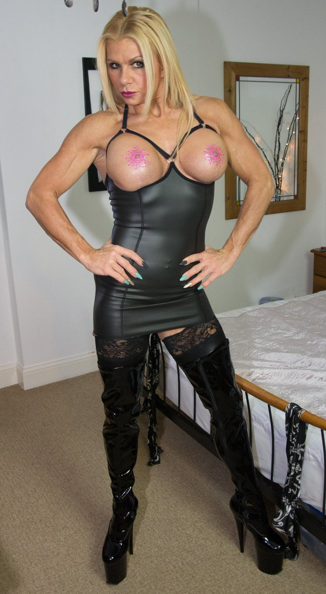 Return fit milf dominatrix was