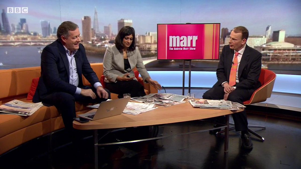 .@piersmorgan on 'raging feminists' and Trump vs the media #marr https...