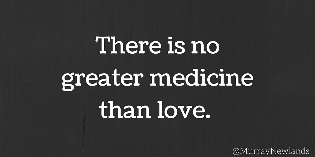 There is no greater medicine than love. #Love #Kindness #Motivation #I...