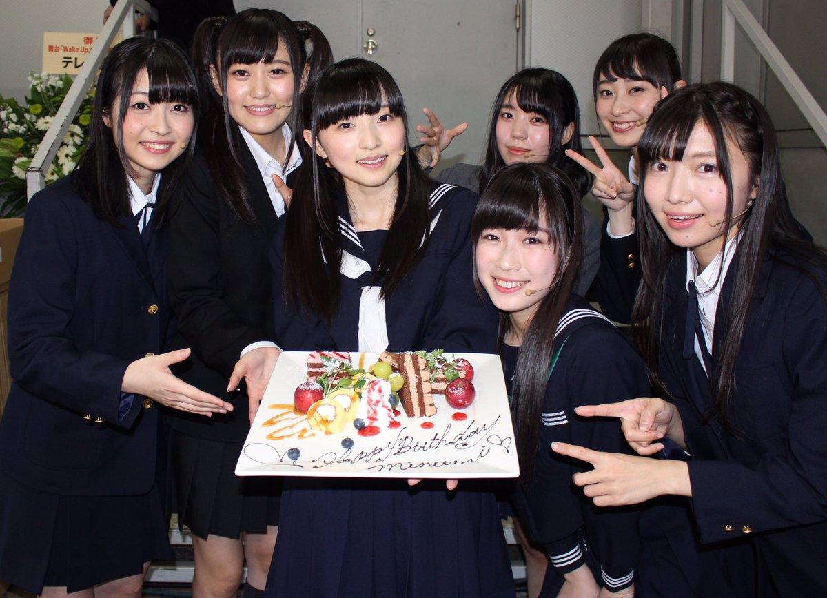 そしてそして!本日1月22日は、みにゃみこと田中美海ちゃんのお誕生日でしたー!! 昼公演の最後にみん…