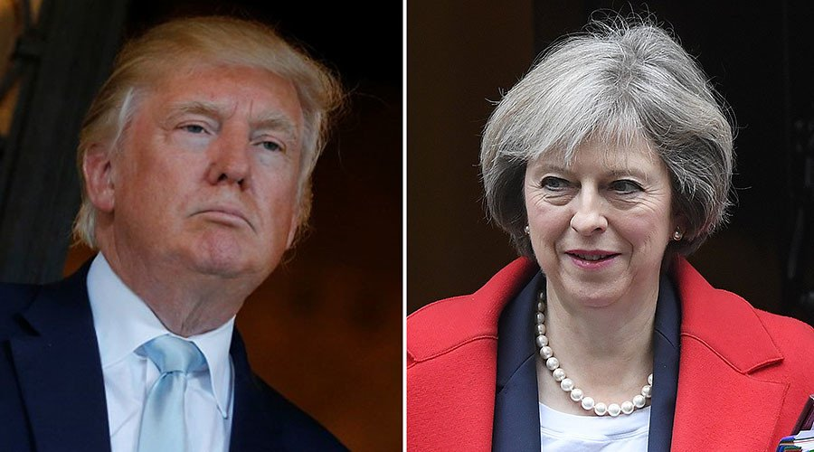 #TheresaMay, #DonaldTrump to meet Friday - White House https://t.co/hS...