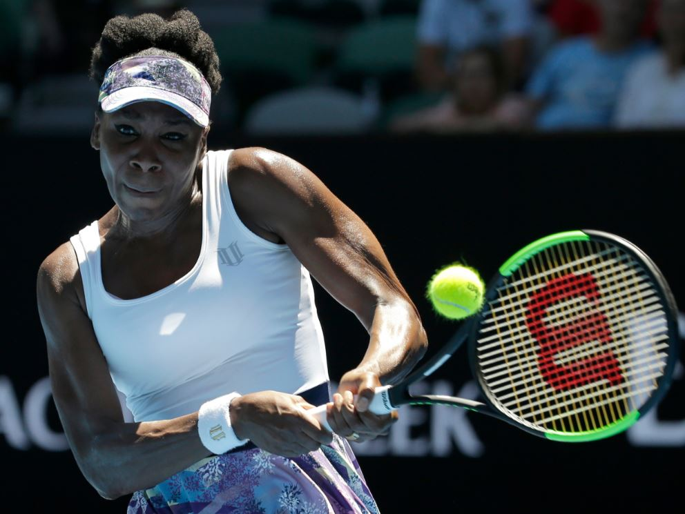 Venus Williams reaches quarterfinals at Australian Open https://t.co/K...