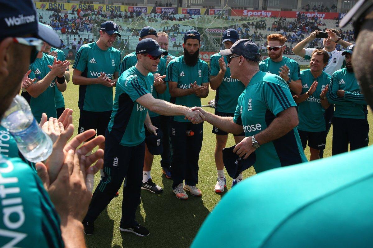Congratulations to Eoin Morgan who plays his 150 ODI for England