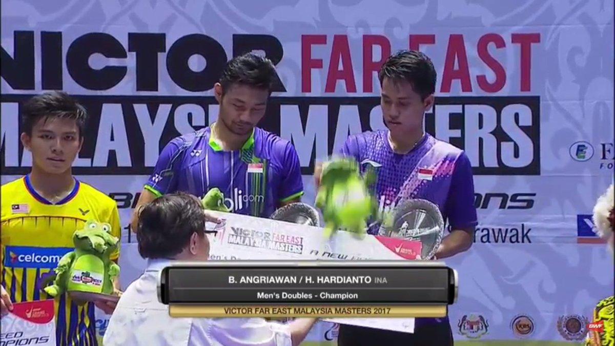 """IG bulutangkisRI on Twitter """"Berry Angriawan Hardianto JUARA"""