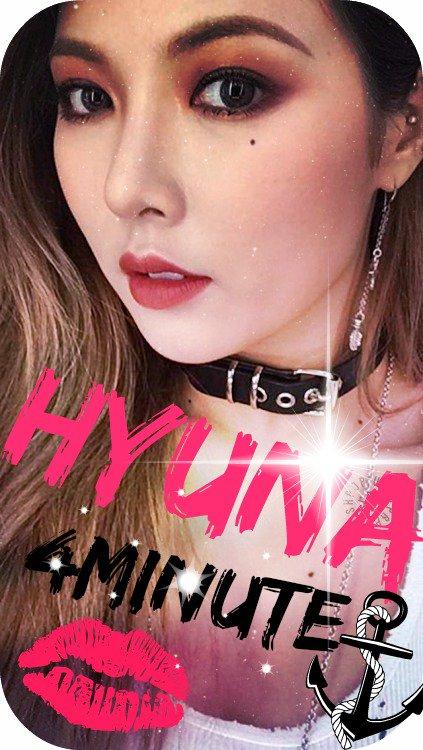 lock da hyuna (4minute) ~ ana