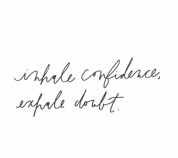 Inhale Confidence, Exhale Doubt 💪  #SundayMorning https://t.co/jBUfBXK...