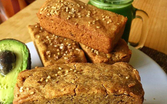Almond Flour Sandwich Bread [Vegan, Gluten-Free]