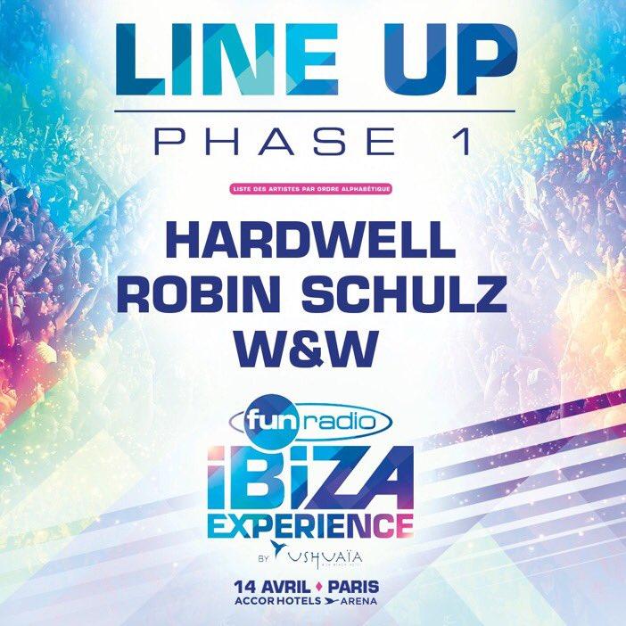Soirée de malade pour la #FunRadioIbizaExperience  @HARDWELL @WandWmusic @robin_schulz #IBIZA #clubbing<br>http://pic.twitter.com/mfuhBrQHOo