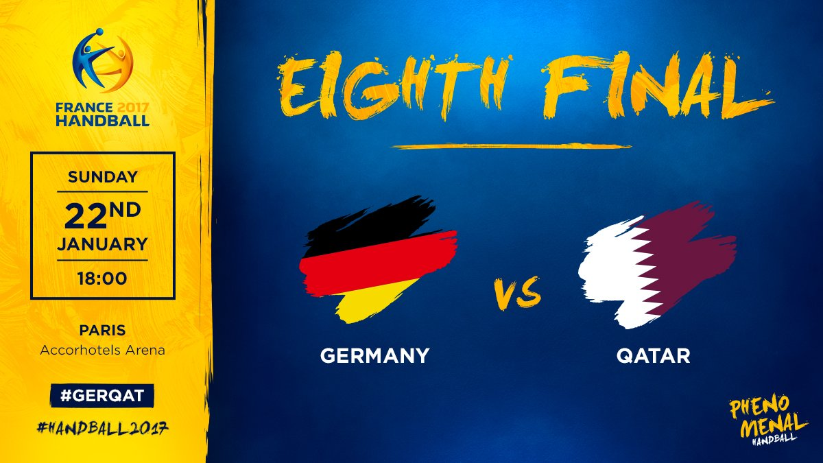 🇩🇪 Germany ⚡️ Qatar 🇶🇦 ➡️ Eighth Final 📍 Paris 🕑 6:00 PM 📲 #GERQAT  #H...