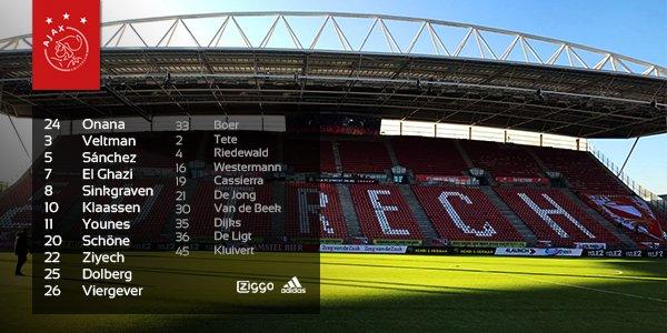 Peter Bosz stuurt deze mannen het veld in voor FC Utrecht - #Ajax! 💪 #...