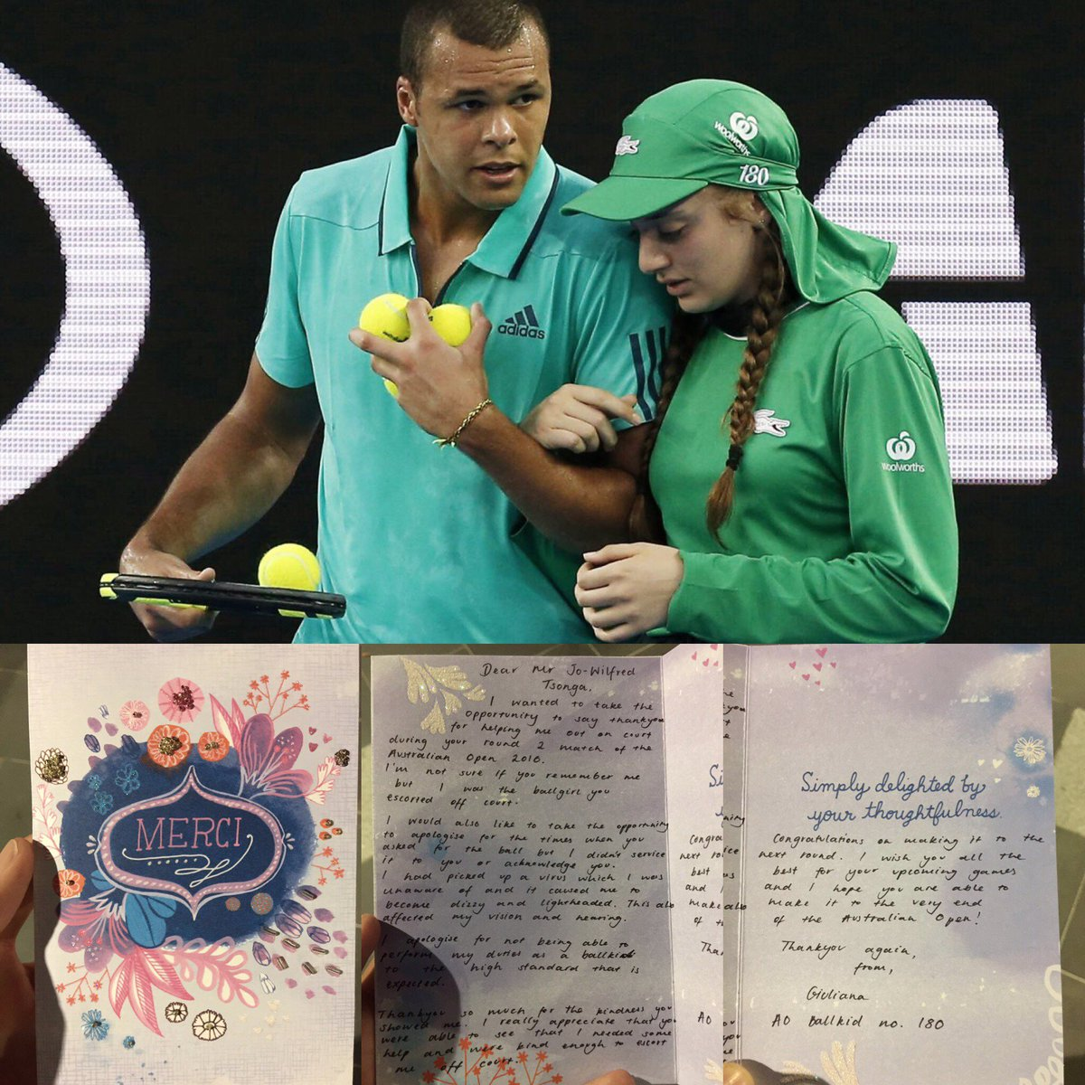 Thank you very much for your letter Giuliana !!!