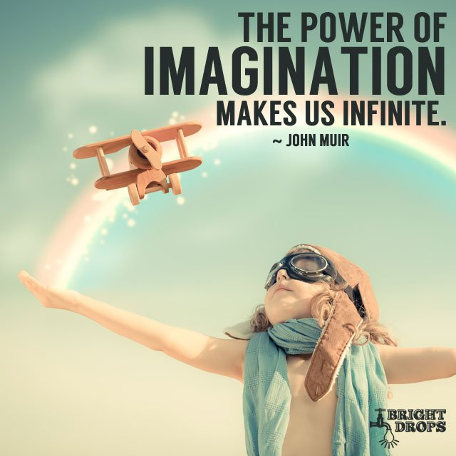 The power of imagination makes us infinite. #quote #mondaymotivation h...