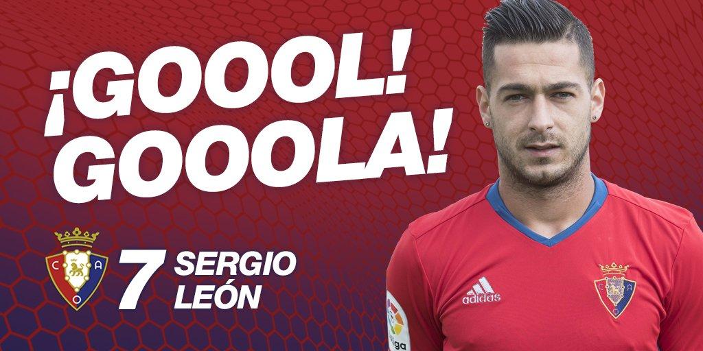 🕒 15' | ¡GOOOOOOOOOOOOOOL! ¡GOOOOOOOOOOOOOOOL! ¡SERGIO LEÓN! (1-0). #O...
