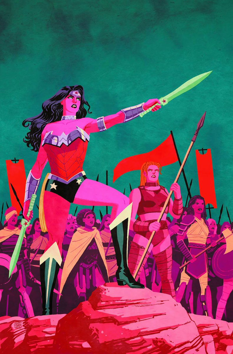 New 52 #WonderWoman Strength, honor, courage. https://t.co/i2cAn9qkET