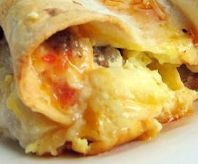 Southwestern Breakfast Tortillas