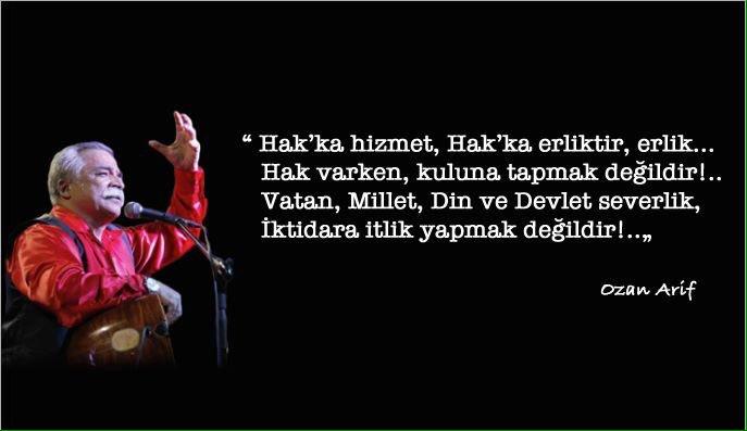 Ülkücü Hareketin unutulmaz sanatçısı Ozan Arif'ten MHP Genel Başkanı D...