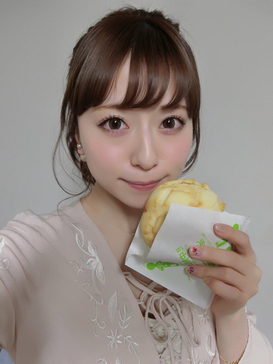 ピエリ守山でのリリイベ来てくれたみんなありがとう(o´ω`o)✨ 世界で二番目においしいメロンパン美…