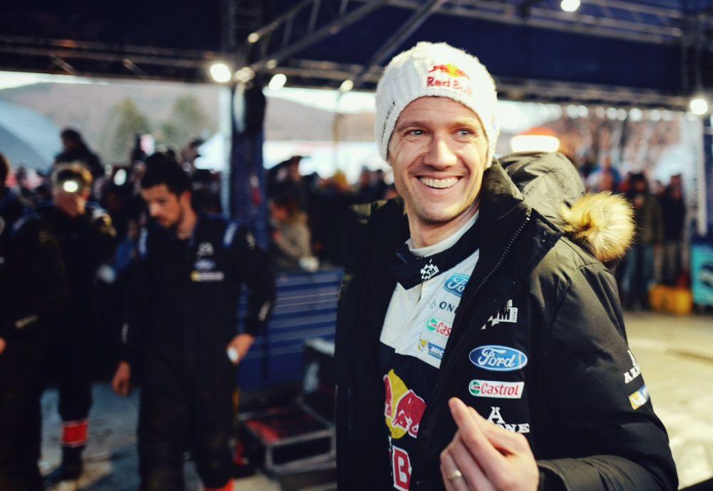 BREAKING NEWS: @SebOgier wins #RallyeMonteCarlo behind the wheel of the Ford Fiesta WRC!! #WRC