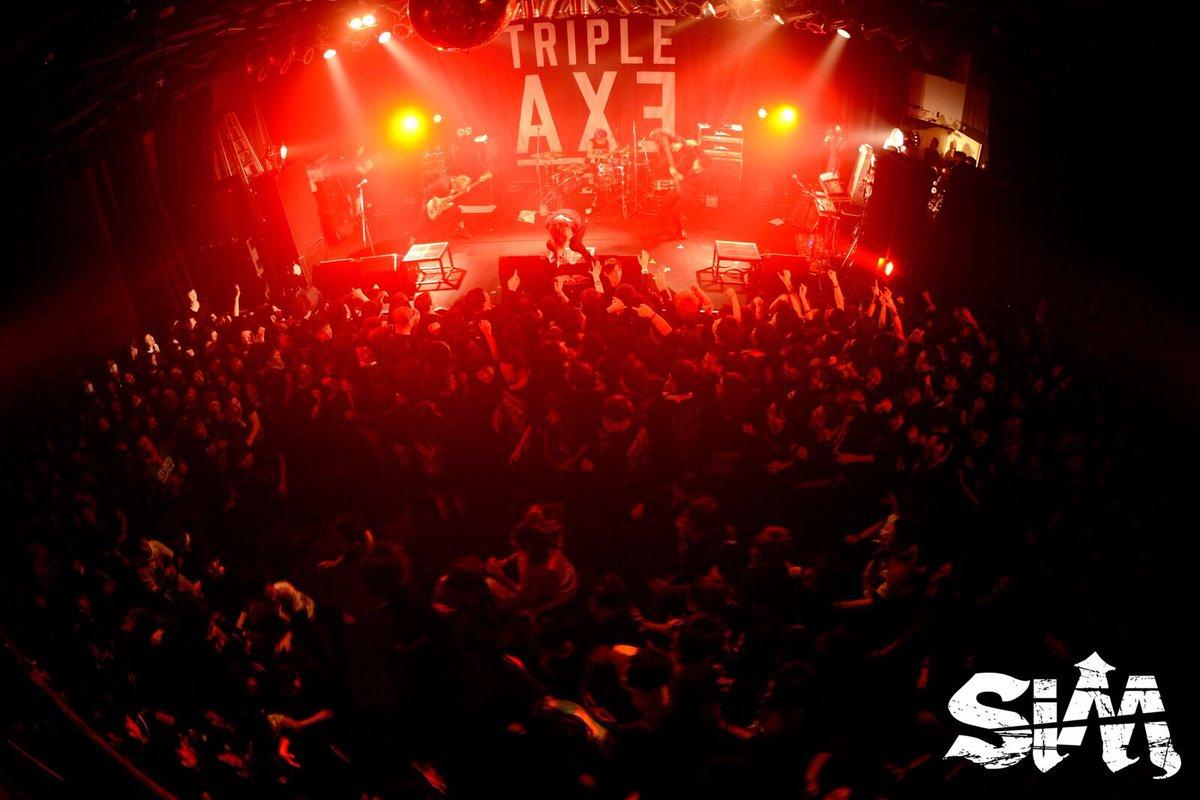 1/22(日) 新潟LOTS TRIPLE AXE TOUR'17 ありがとうございました!…