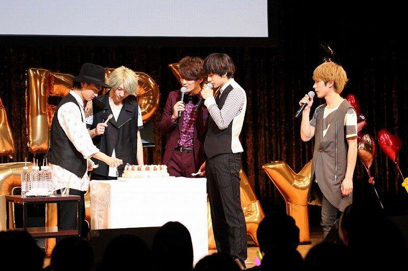 DISH// 龍二&昌暉それぞれの生誕祭で2017年への決意 「ストイックに夢に向かっていきたい」(…