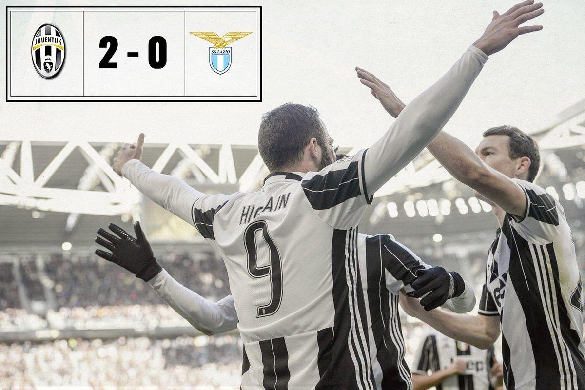 VIDEO Juventus-Lazio risultato esatto 2-0, tabellino highlights. Riscatto Juve!