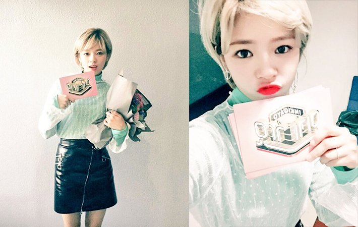 """#TWICE's #Jeongyeon Thanks Fans After Her Last Day Of Hosting """"Inkigay..."""