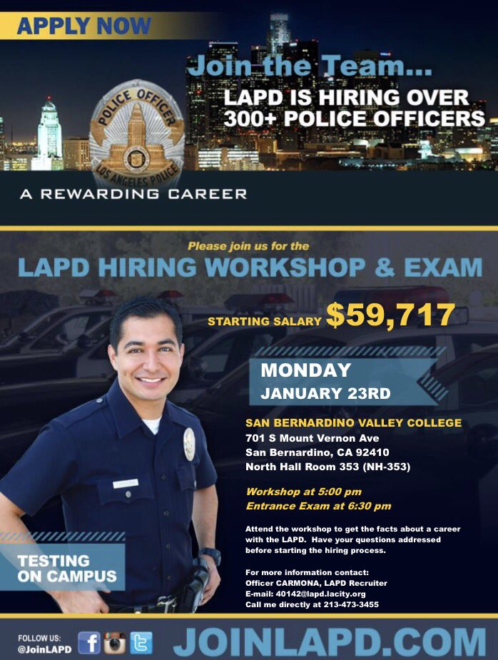 Join Lapd