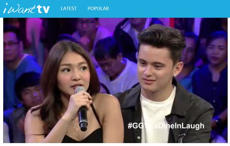 Abangan ang #GGVJaDineInLaugh sa ABS-CBN HD sa iWant TV: https://t.co/...